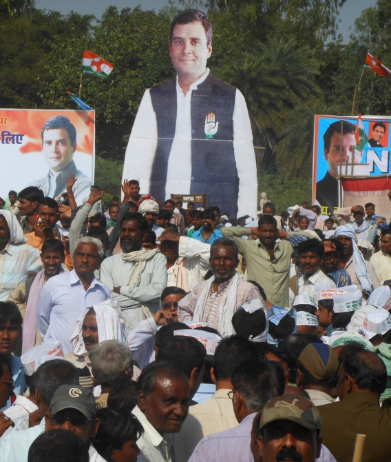 The rally at Rath in Hamirpur