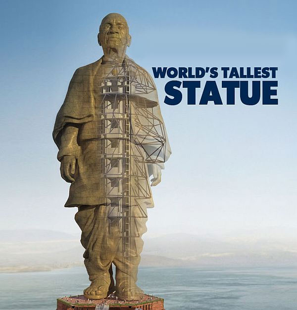 5 interesting facts about modi s statue of unity   rediff   news