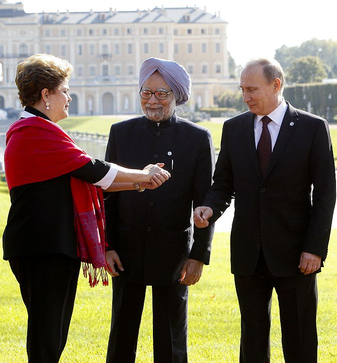 Go G20! World leaders get the party on in Russia