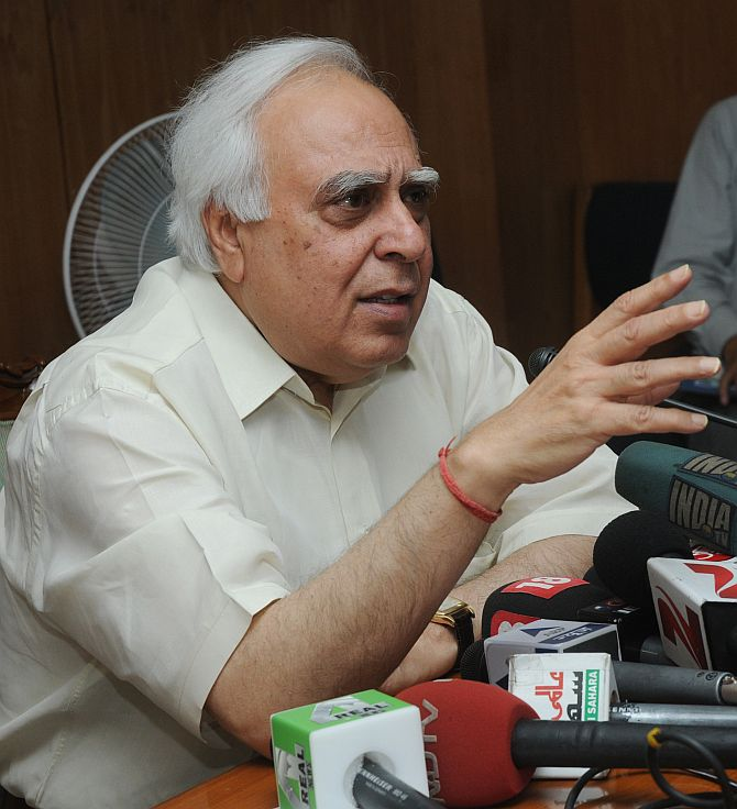 Why Sibal said SORRY in Rajya Sabha