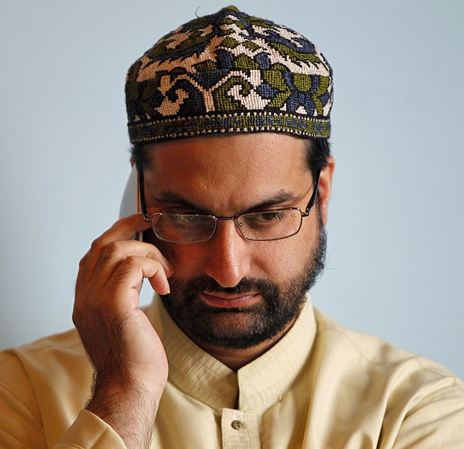 Mirwaiz Umar Farooq, chairman of Kashmir's moderate faction of All Parties Hurriyat Conference