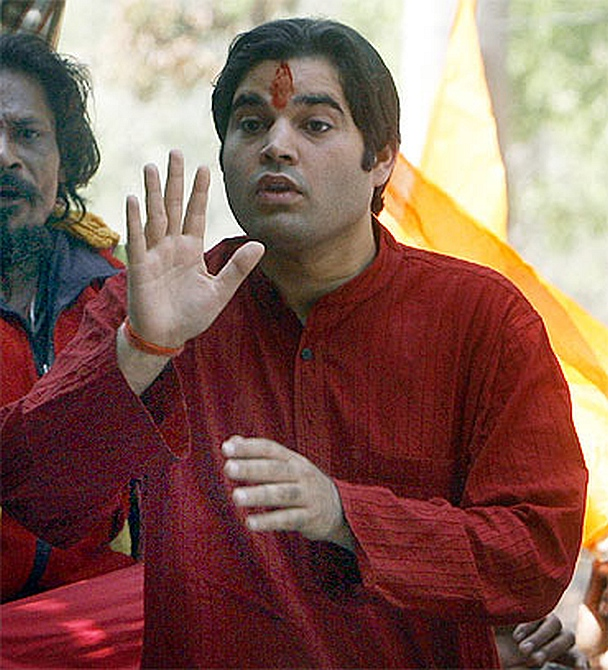 Bharatiya Janata Party member of Parliament Varun Gandhi