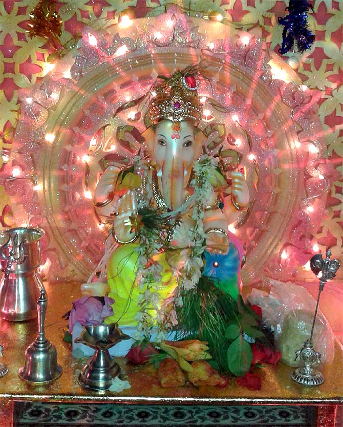 Readers' PHOTOS: Ganpati from Nagp