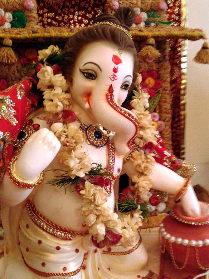Readers' PHOTOS: Ganpati from Nagpur to California