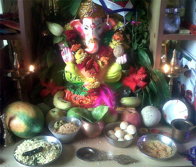 Readers' Ganpati PHOTOS: From Yash Raj to Santa Clara