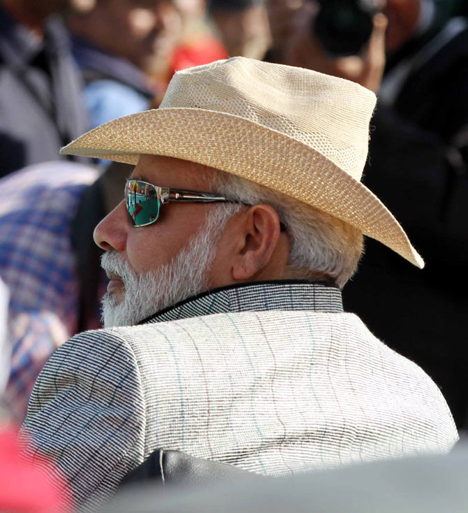Narendra Modi is a stylish dresser.
