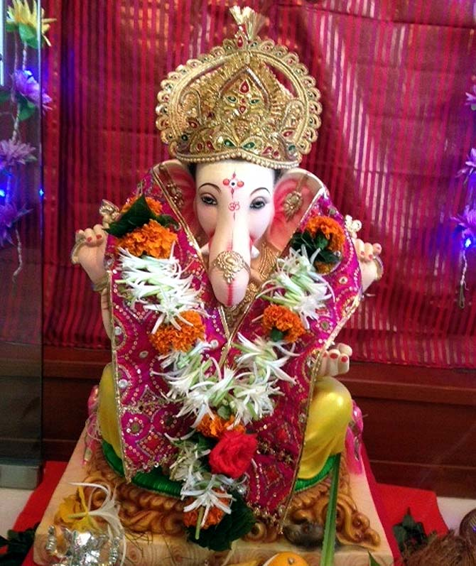Readers' PHOTOS: Beautiful Ganeshas from US to UK