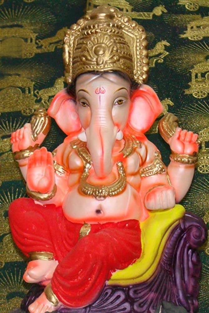 Readers' PHOTOS: Beautiful Ganeshas from Bandra to Bhilai