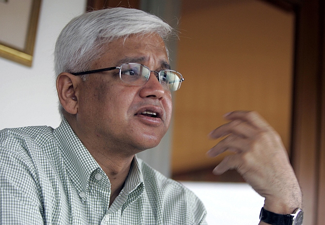 Author and Padma Shri awardee Amitav Ghosh