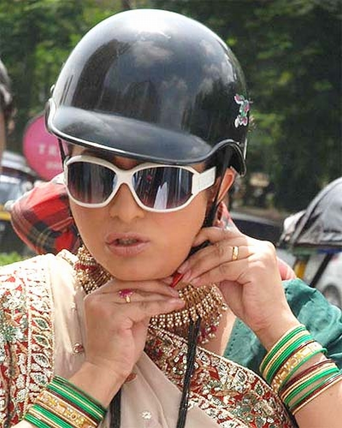 Smriti Irani, the BJP candidate for Amethi.