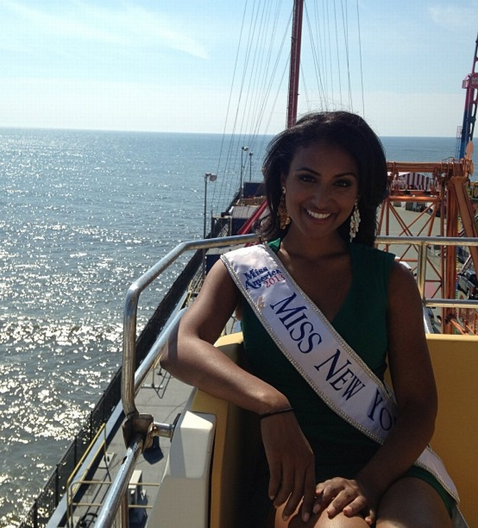 Indian beauty Nina Davuluri is the new Miss America!