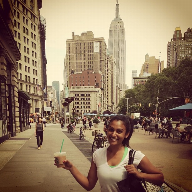 Gorgeous Miss America Nina like you've never seen before