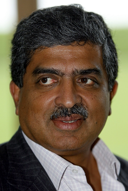 Nandan Nilekani, co-founder of Infosys and the man behind Aadhar programme