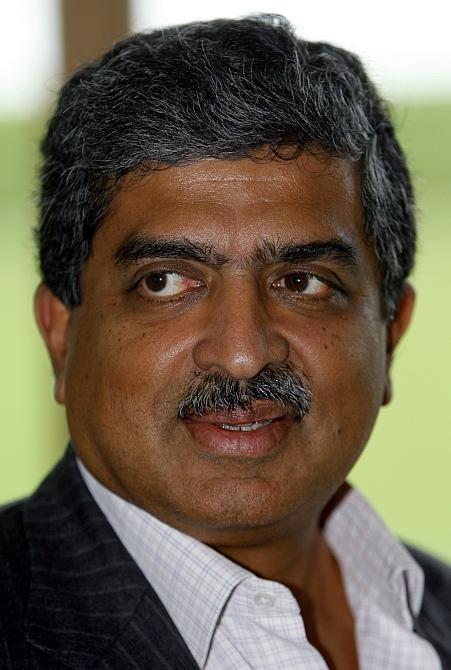 Nandan Nilekani, co-founder of Infosys and the man behind Aadhar program