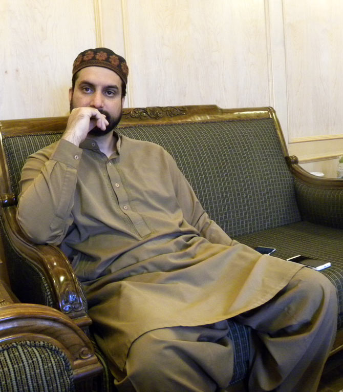 The Mirwaiz believes the Kashmir struggle has become non-violent