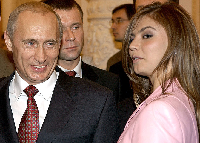 Is this beauty the next Mrs Putin?