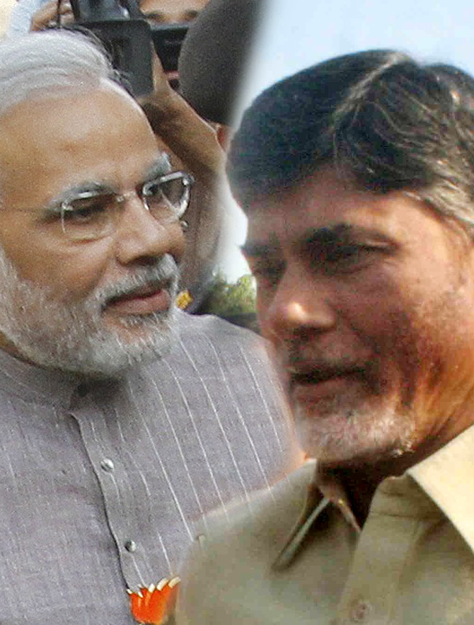 Why a Naidu-Modi team up is a hopeless proposition