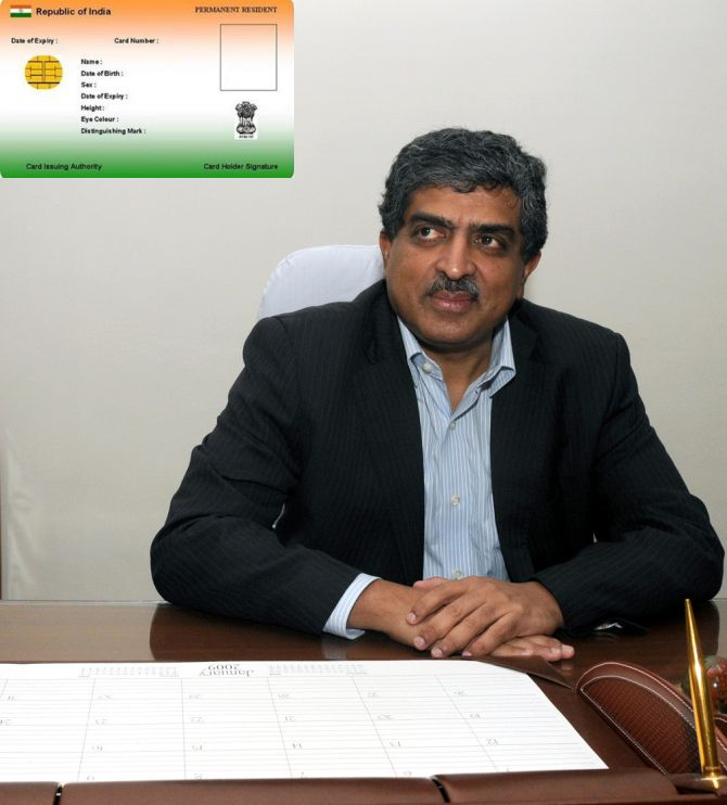 UIDAI Chairman Nandan Nilekani
