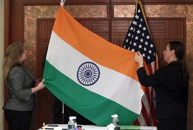 The India-US love story is soaring
