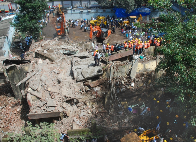 Mumbai building collapse: Death toll touches 50, many feared trapped