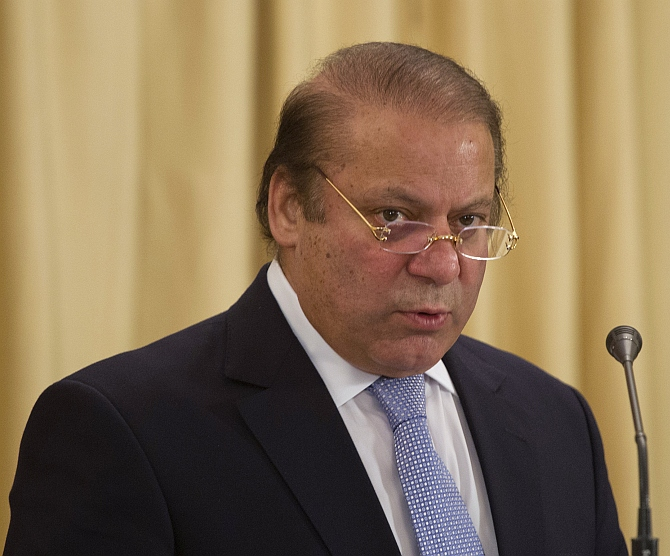 Pakistan PM Nawaz Sharif