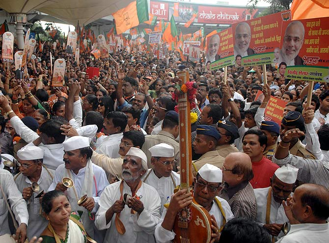Mumbai gives Narendra Modi a welcome to remember