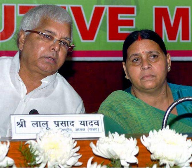 Lalu in jail: Rabri set to take over; Tejaswi can 'wait'