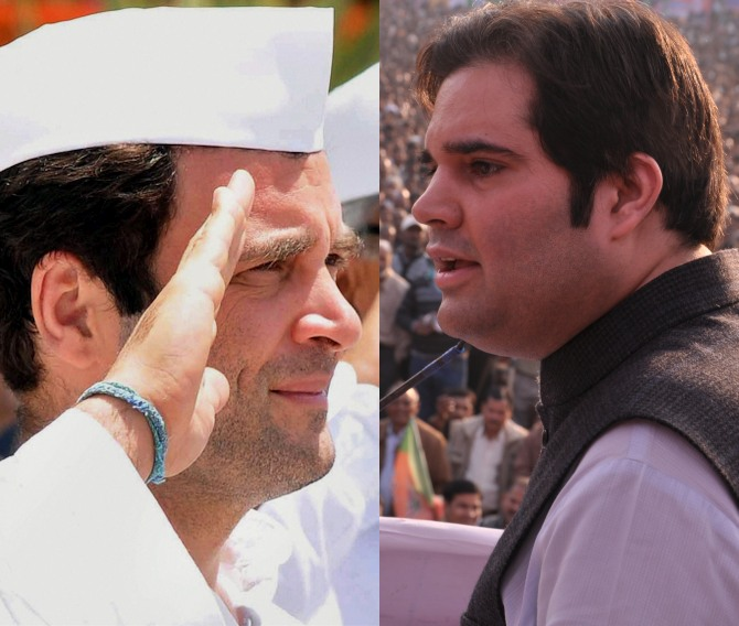 Love ain't quite lost in Gandhi parivar