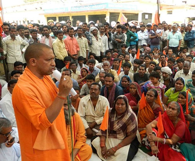 Why no 'BJPwallah' would comment on this yogi... or his politics