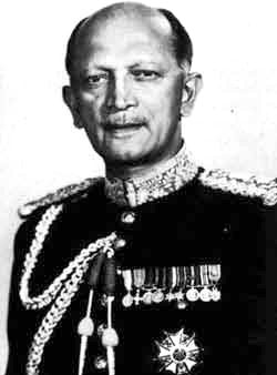 Field Marshal K M Cariappa, the only other Army Chief to fight a Lok Sabha election.