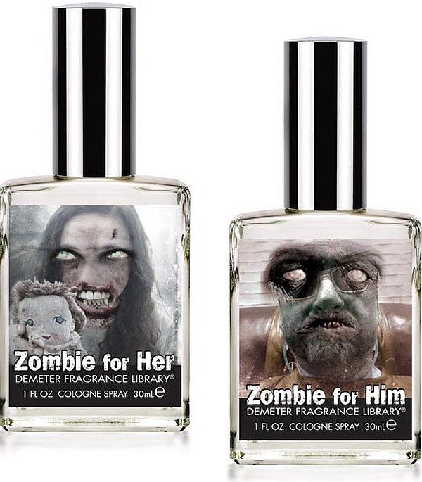 Now, a cologne to keep zombies at bay