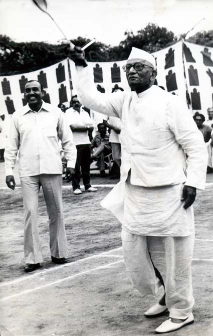 Less than six week after this photograph was taken, Prime Minister Morarji Desai resigned.