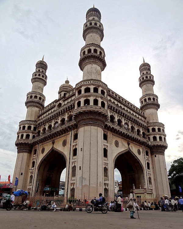The Charminar monument in Hyderabad