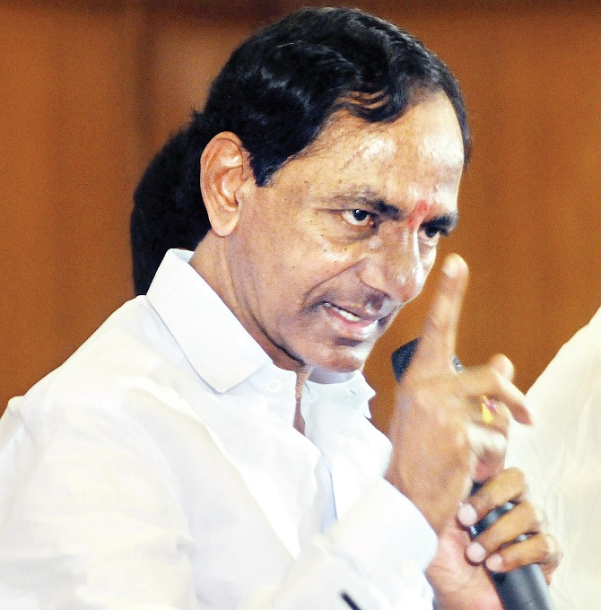 Just politics! Nobody's got an agenda on Telangana
