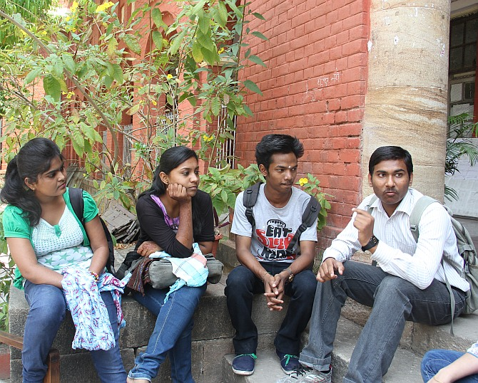 College students Piyush Waghmare, Shubham Chapekar, Priyanka Gajbhiye and Rajaswita Kengale believe that Election 2014 is different from earlier elections.
