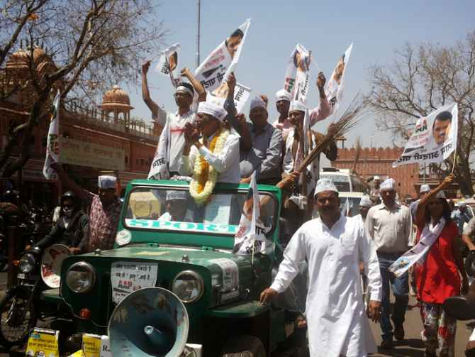 Dr Singh campaigns in Jaipur on Friday