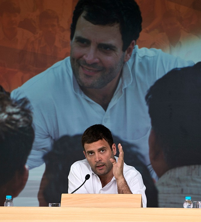 TV interview # 2: Rahul goes after Modi, drags in Adani
