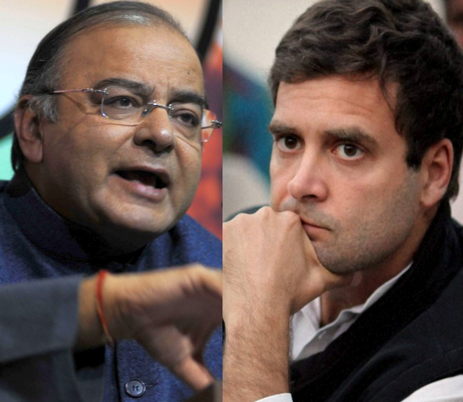 Jaitley reminds Rahul: Disturbed marriage of a former PM was not an issue