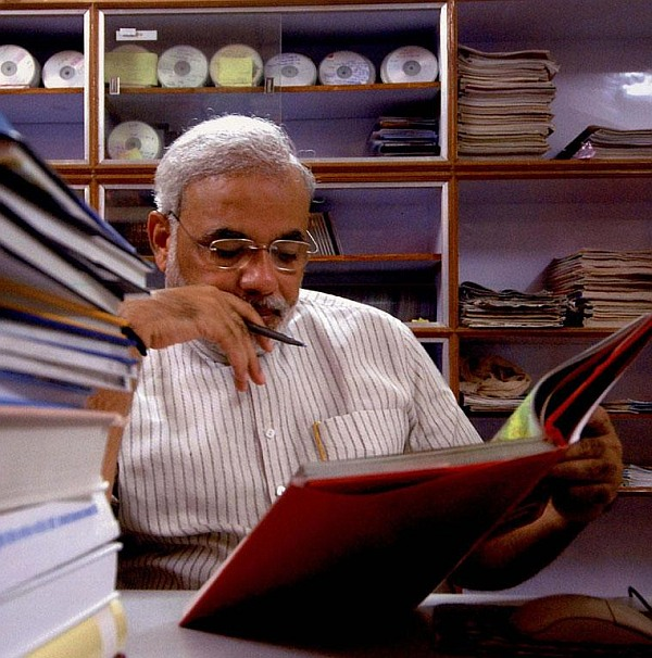 'I am not sure if Modi actually read the book'