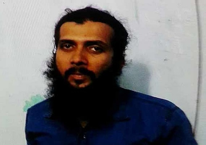 Yasin Bhatkal, the captured Indian Mujahideen leader.