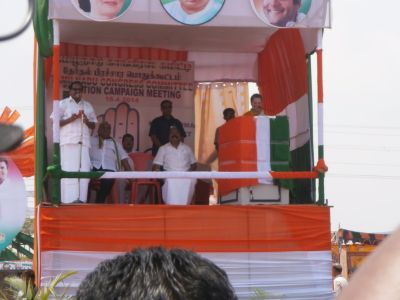 Sonia Gandhi in Kanyakumari