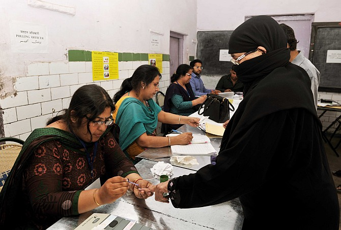 Moderate to high turnout in 5th phase of LS polls