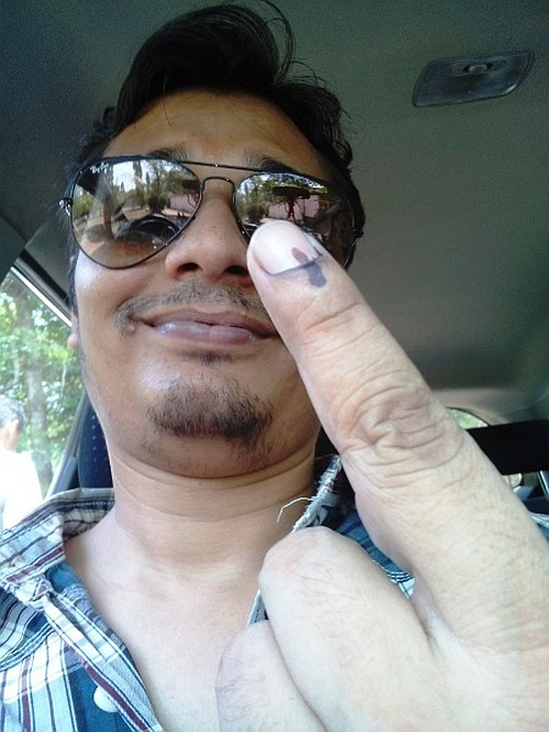 Voting Special: Flaunt your Finger