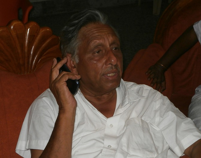 Mani Shankar Aiyar, diplomat and politician.