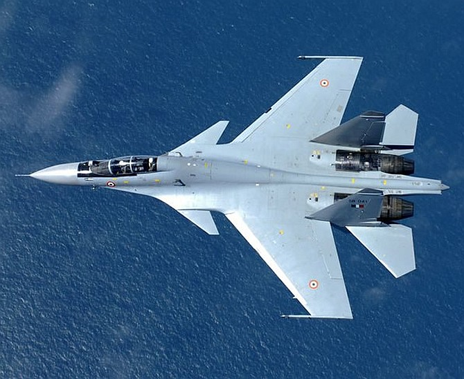 Entire Sukhoi-30MKI fleet to arrive by 2019