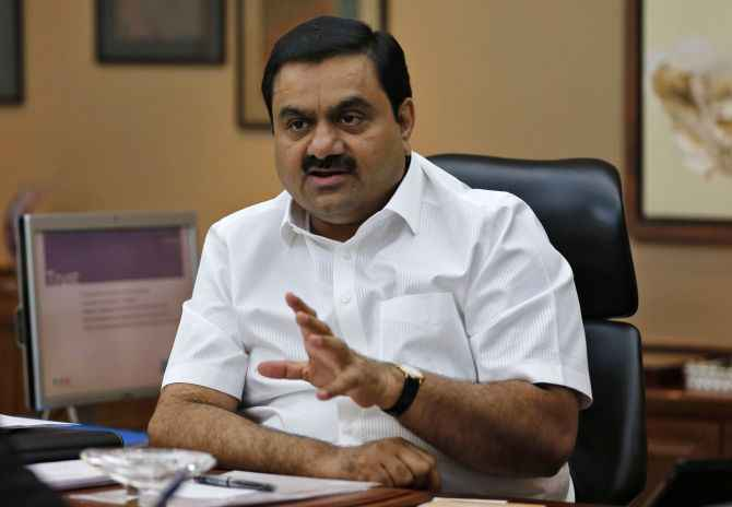 Industrialist Gautam Adani