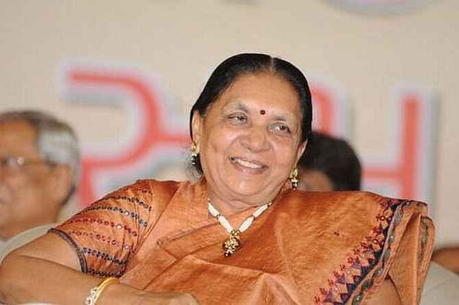 'Why no action against Anandiben Patel?'