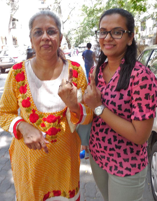 Sushma and Aneri Parekh