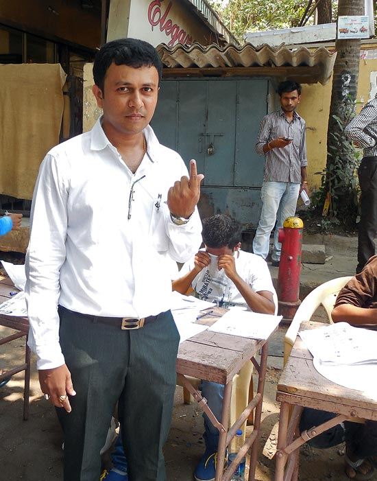 Upendra Lokegaonkar feels the voting percentage will go up after 4 pm in Mumbai