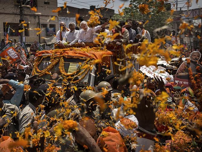 Modi's now selling <I>har ghar</I> Hindutva
